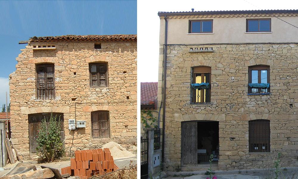 Como reformar una casa antigua awesome perfect reformar una casa precio integral rural en - Reformar una casa precio ...