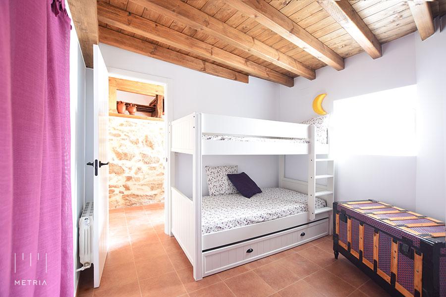Casa Venancio, dormitorio infantil
