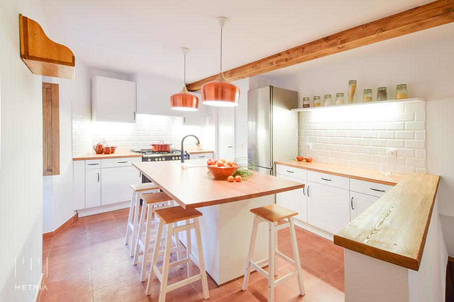 Casa Venancio, cocina