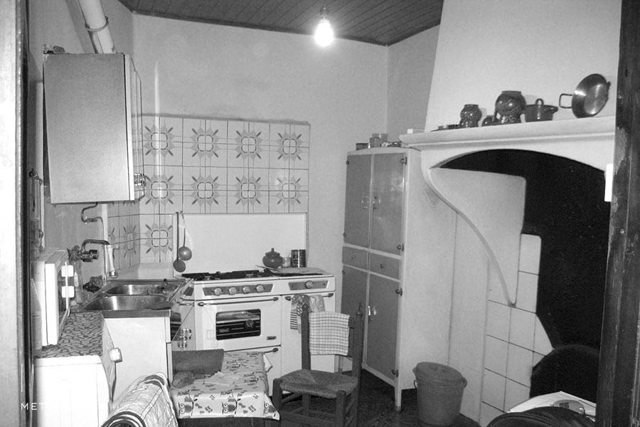 Casa Venancio, cocina antes de la reforma