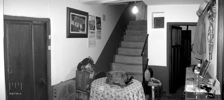 Casa Venancio, recibidor antes de la reforma